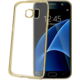 CELLY Laser - lemování s kovovým efektem TPU pouzdro pro Samsung Galaxy S7, zlatá