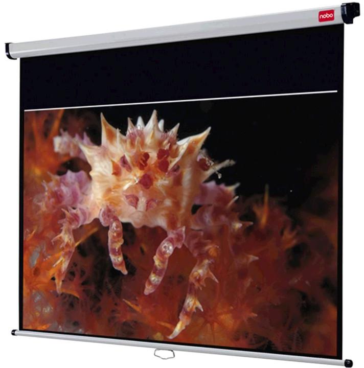 NOBO Nástěnné projekční plátno, 200x135cm (16:10)