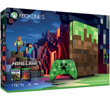 XBOX ONE S, 1TB, Minecraft Limited Edition - 23C-00011