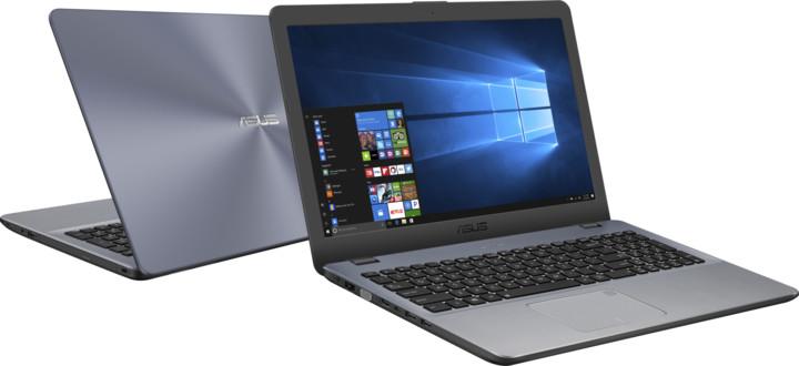 ASUS VivoBook F542UQ, šedá