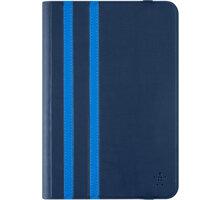 Belkin iPad mini 4/3/2 pouzdro Twin Stripe, modrá - F7N324btC02