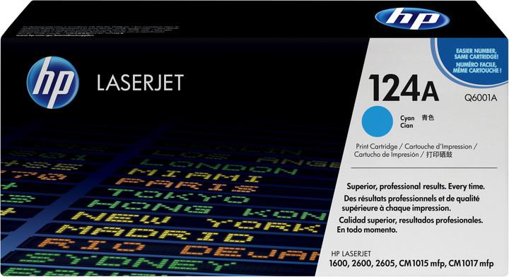 HP Q6001A, azurový
