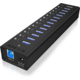 ICY BOX IB-AC6113, USB 3.0 Hub, 13-Port