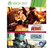 Ghost Recon: Advance Warfighter 2 and Rainbow 6 Vegas 2 - X360 - 3307215624661
