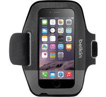 Belkin Sport Fit Armband pouzdro pro iPhone 6/6s, blacktop/gravel - F8W630btC00