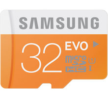 Samsung Micro SDHC EVO 32GB + SD adaptér - MB-MP32DA/EU