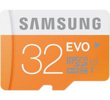 Samsung Micro SDHC EVO 32GB Class 10 UHS-I + adaptér