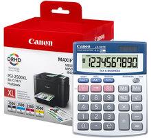 Canon PGI-2500XL Bk/C/M/Y multipack + kalkulačka LS-100 - 9254B006