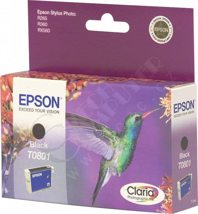 Epson C13T080140, černá
