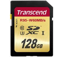 Transcend SDXC 128GB UHS-I U3 - TS128GSDU3