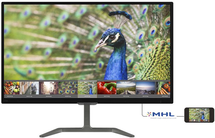"""Philips 276E7QDAB - LED monitor 27"""""""