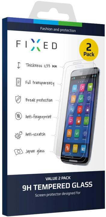 FIXED ochranné tvrzené sklo pro Samsung Galaxy J5 (2016), 0.33 mm, 2ks