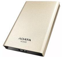 ADATA HC500 - 1TB, zlatá - AHC500-1TU3-CGD