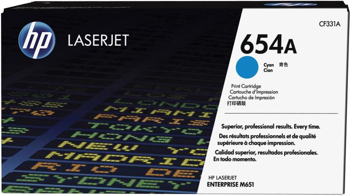 HP 654A, cyan