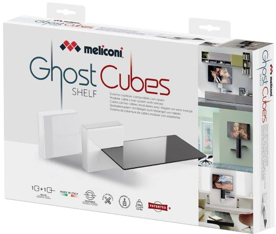 Meliconi GHOST CUBE cover, bílá
