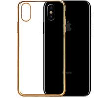 EPICO BRIGHT pružný plastový kryt pro iPhone 8 - zlatý - 24310102000002 + EPICO Nabíjecí/Datový Micro USB kabel EPICO SENSE CABLE